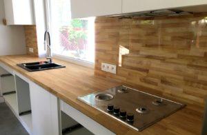 panele drewniane druk na szkle